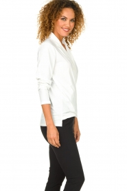 D-ETOILES CASIOPE | Wrinkle-free stretch blouse Sangria | white  | Picture 4