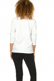 D-ETOILES CASIOPE | Wrinkle-free stretch blouse Sangria | white  | Picture 5