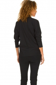 D-ETOILES CASIOPE | Wrinkle-free stretch blouse Sangria | black  | Picture 5
