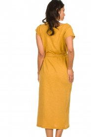 American Vintage |  Dress with matching belt Bysapick | yellow  | Picture 5