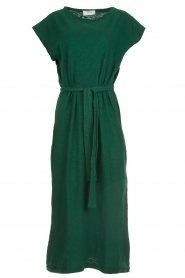 American Vintage |   Dress with matching belt Bysapick | green  | Picture 1