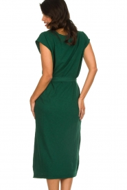 American Vintage |   Dress with matching belt Bysapick | green  | Picture 6