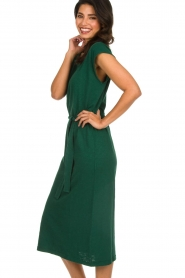 American Vintage |   Dress with matching belt Bysapick | green  | Picture 5