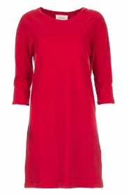American Vintage |  Sweater dress Berry | red  | Picture 1