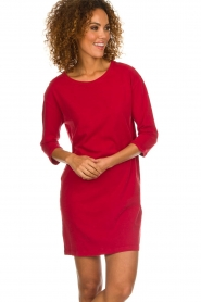 American Vintage |  Sweater dress Berry | red  | Picture 2