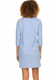 American Vintage |  Sweater dress Waterfall | blue  | Picture 5
