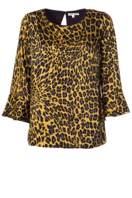Kocca | Blouse with print Jean | yellow  | Picture 1
