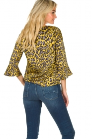 Kocca | Blouse with print Jean | yellow  | Picture 6