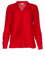 Kocca | Wrap blouse Tica | red  | Picture 1