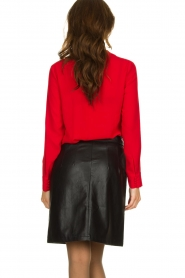 Kocca | Wrap blouse Tica | red  | Picture 6