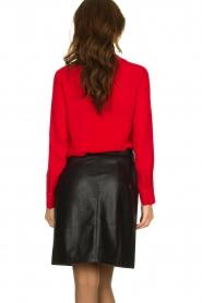 Kocca | Wrap blouse Tica | red  | Picture 6
