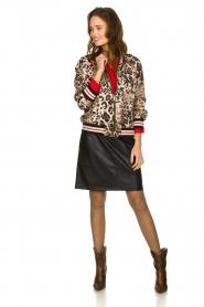 Kocca | Wrap blouse Tica | red  | Picture 3