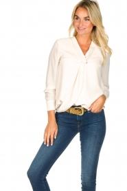 Kocca |  Wrap blouse Tica | natural  | Picture 2
