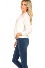 Kocca |  Wrap blouse Tica | natural  | Picture 5