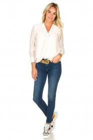 Kocca |  Wrap blouse Tica | natural  | Picture 3