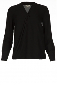 Kocca | Wrap Blouse Tica | black  | Picture 1