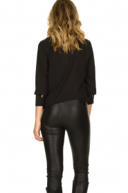 Kocca | Wrap Blouse Tica | black  | Picture 5