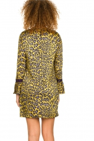 Kocca | Dress with print Ginseng | yellow  | Picture 5