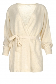 American Vintage |  Cardigan with belt Biba | natural  | Picture 1