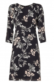 Kocca | Dress with print Fabius | black  | Picture 1