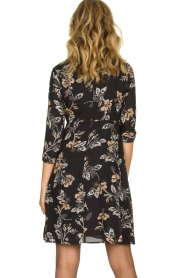 Kocca | Dress with print Fabius | black  | Picture 5