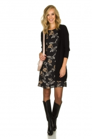 Kocca | Dress with print Fabius | black  | Picture 3