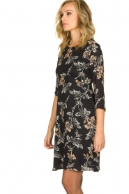 Kocca | Dress with print Fabius | black  | Picture 4