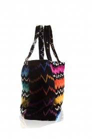 Reetsj |  Beachbag with zigzag pattern Cain  | Picture 4