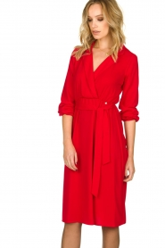 Kocca | Dress Aja | red  | Picture 5