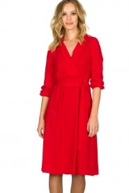 Kocca | Dress Aja | red  | Picture 4
