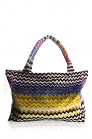 Reetsj |  Beachbag with zigzag Suvi | multi  | Picture 1