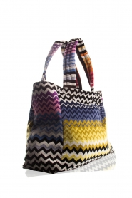 Reetsj |  Beachbag with zigzag Suvi | multi  | Picture 4