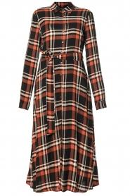 Kocca    Checkered midi dress Magnify   multi    Picture 1