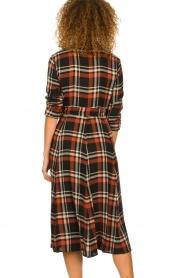 Kocca    Checkered midi dress Magnify   multi    Picture 6