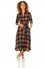 Kocca    Checkered midi dress Magnify   multi    Picture 3