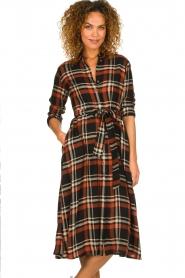 Kocca    Checkered midi dress Magnify   multi    Picture 4