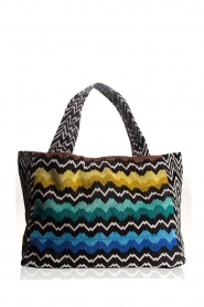 Reetsj |  Beachbag with zigzag pattern Moana  | Picture 1