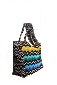 Reetsj |  Beachbag with zigzag pattern Moana  | Picture 3