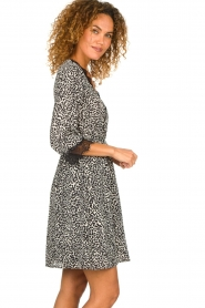 Kocca | Dress with print Besidas | black  | Picture 4