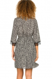 Kocca | Dress with print Besidas | black  | Picture 5