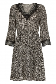 Kocca | Dress with print Besidas | black  | Picture 1