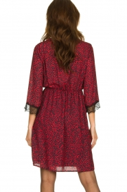 Kocca | Dress with print Besidas | red  | Picture 4