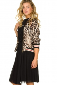 Kocca |  Jacket with leopard print Anny | animal print  | Picture 4