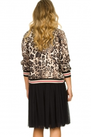 Kocca |  Jacket with leopard print Anny | animal print  | Picture 5