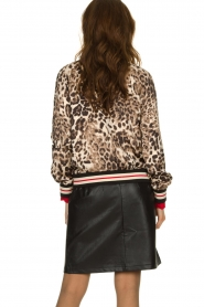 Kocca |  Jacket with leopard print Anny | animal print  | Picture 6