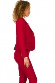 Kocca |  Classic blazer Jander | red  | Picture 4