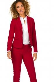 Kocca |  Classic blazer Jander | red  | Picture 2