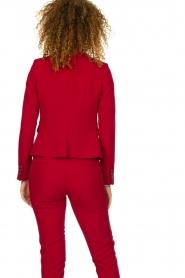 Kocca |  Classic blazer Jander | red  | Picture 5