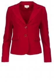 Kocca |  Classic blazer Jander | red  | Picture 1