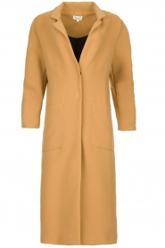 Kocca |  Long coat Dimity | camel  | Picture 1